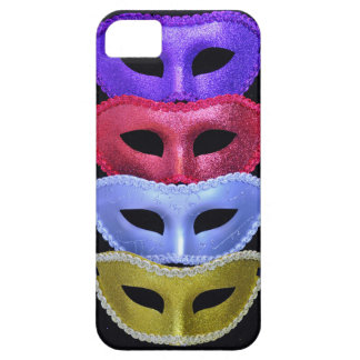 iPhone 5 Case Masques colorés de parties scintillantes