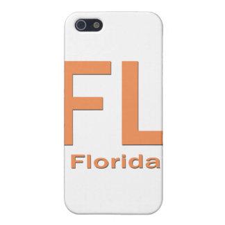 iPhone 5 Case Orange simple de FL la Floride