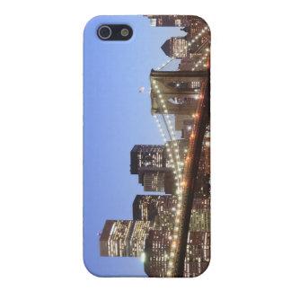 iPhone 5 Case Pont de Brooklyn et horizon de Manhattan la nuit
