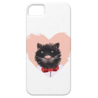 iPhone 5 Case Portrait d'un chat