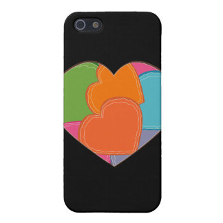 iPhone 5 Case Puzzle de coeur
