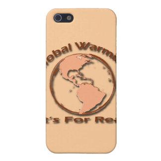 iPhone 5 Case Réchauffement climatique son pour le vrai brun