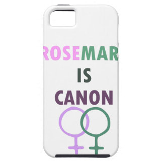 iPhone 5 Case Rosemary est Canon (v1)