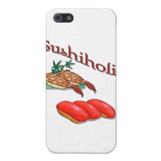 iPhone 5 Case Rouge de crevette et de thon de Sushiholic