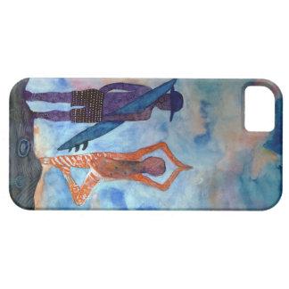iPhone 5 Case Se d'iPhone de yoga de surf + iPhone 5/5S, à peine