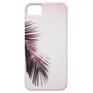 iPhone 5 Case Si la paume clignote Leaf with Sun