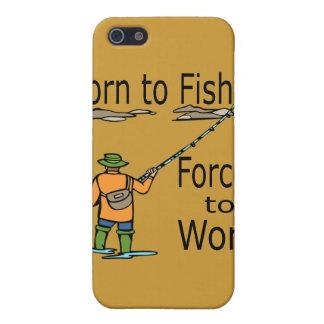 iPhone 5 Case Soutenu pour pêcher obligatoire pour travailler le