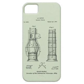 iPhone 5 Case Télescope submersible, Sarah Mather