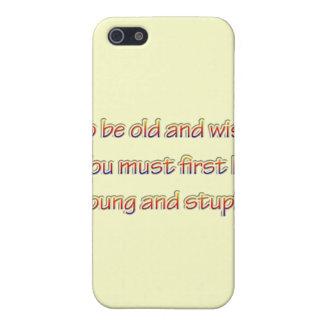 iPhone 5 Case Vieux et sage rnbw
