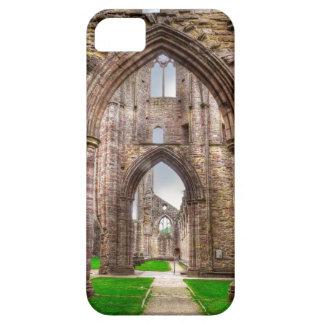 iPhone 5 Case Vue intérieure d'abbaye antique Pays de Galles,