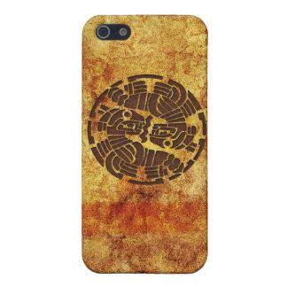 iPhone 5 de conception de motif de médaillon de Étui iPhone 5