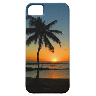 iPhone 5 d'Hawaï Kauai - coucher du soleil de plag Étui iPhone 5