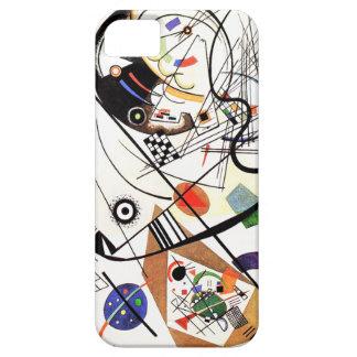 iPhone 5 van de Lijn van Tranverse van Kandinsky H Barely There iPhone 5 Hoesje