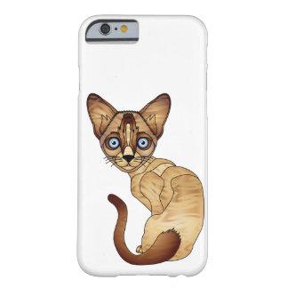 iPhone 6/6s, à peine là cas de chat siamois de Coque iPhone 6 Barely There