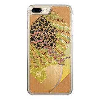 iPhone 6/6s de croissance plus le bois mince Coque En Bois iPhone 7 Plus
