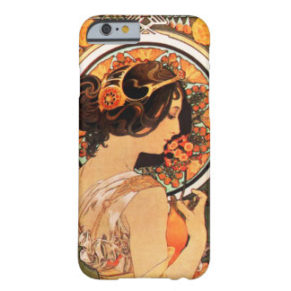 iPhone 6 van Alphonse Mucha Cow Slip hoesje Barely There iPhone 6 Hoesje
