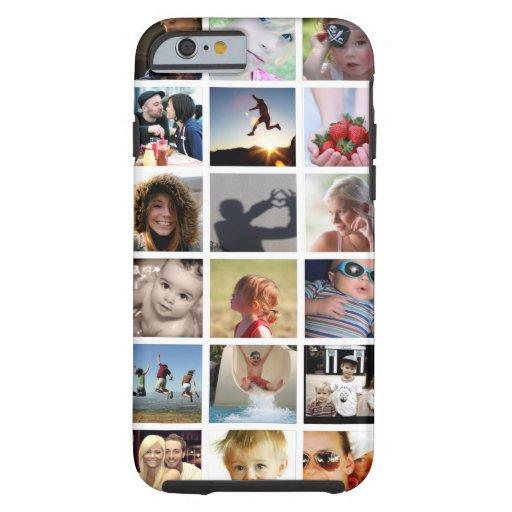 iPhone 6 van de Collage van de Foto van de klant Tough iPhone 6 Case