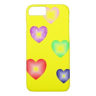 iPhone 7 coeurs de conception moderne de cas Coque iPhone 8/7