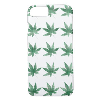 iPhone 7 feuilles de pot de #Hashtag de cas Coque iPhone 8/7