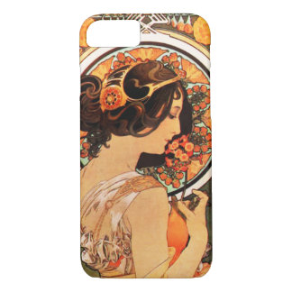 iPhone 7 van Alphonse Mucha Cow Slip hoesje