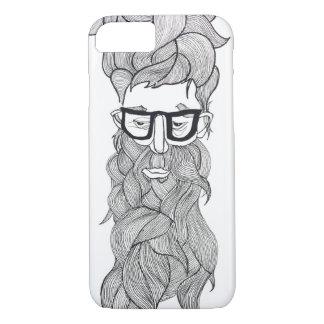 iPhone 7, wierdy beardy iPhone 8/7 Hoesje