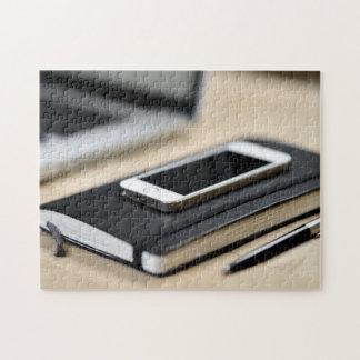 iPhone, carnet, et stylo Puzzle