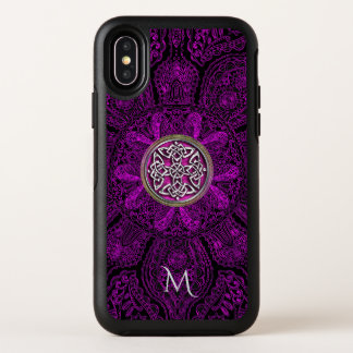 iPhone celtique X d'Otterbox de monogramme de