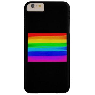 iPhone/coque ipad de drapeau d'arc-en-ciel Coque Barely There iPhone 6 Plus