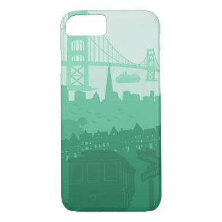 iPhone de chariot de San Francisco golden gate Coque iPhone 7