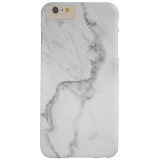 iPhone de marbre 6/6s de Carrare plus le cas Coque iPhone 6 Plus Barely There