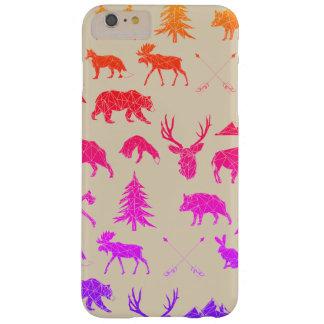 iPhone géométrique 6/6s des animaux | de région Coque Barely There iPhone 6 Plus