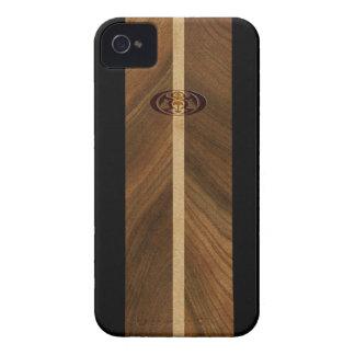 iPhone hawaïen de planche de surf de point rocheux Étui iPhone 4