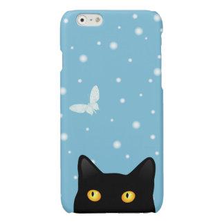 iPhone intuitif 6 de papillon de neige de chat