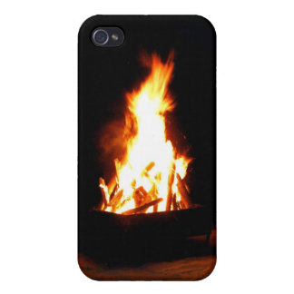 iPhone jamaïcain de feu de plage iPhone 4 Case