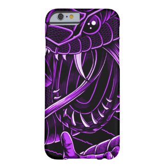 iPhone pourpre de serpent de diable Coque iPhone 6 Barely There