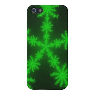 iPhone vert 5 de flocons de neige iPhone 5 Case