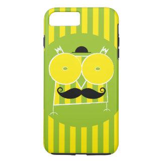 iPhoneHoesje van de Uil van Mustached (voor om het iPhone 8 Plus / 7 Plus Hoesje