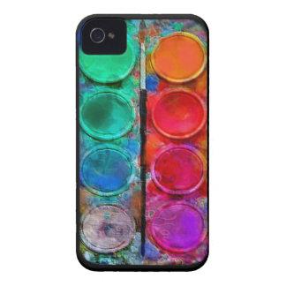 iPhoneHoesje van Pallette van de Verf van de water iPhone 4 Hoesje