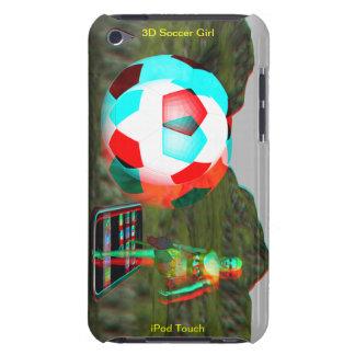 iPod de hoesje-Partner van de Aanraking 3D Meisje iPod Touch Hoesje