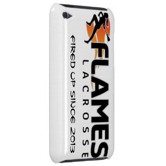 iPod het Hoesje van de Lacrosse van de Vlammen van
