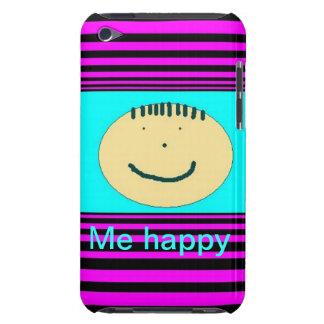 iPod hoesje met gelukkig gezicht