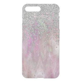 Iridescnet Roze en Zilveren iPhone7 plus Hoesje