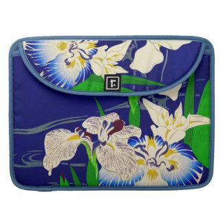 Iris bleu poche pour macbook