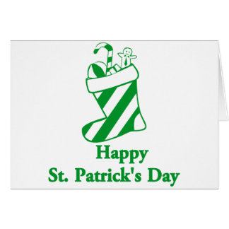 Irlandais Carte De Vœux
