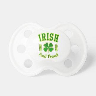 Irlandais et fier tétine pour bébé