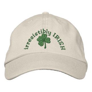 irrésistiblement Irlandais - casquette de shamrock