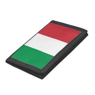 Italiaanse vlagportefeuilles   ontwerp Tricolore