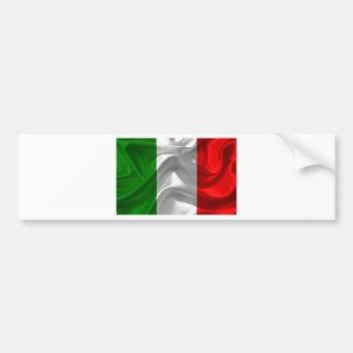 Italie-Drapeau Autocollant De Voiture