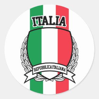 Italië Ronde Sticker