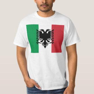 Italien Arberesh, drapeau de l'Italie T-shirt
